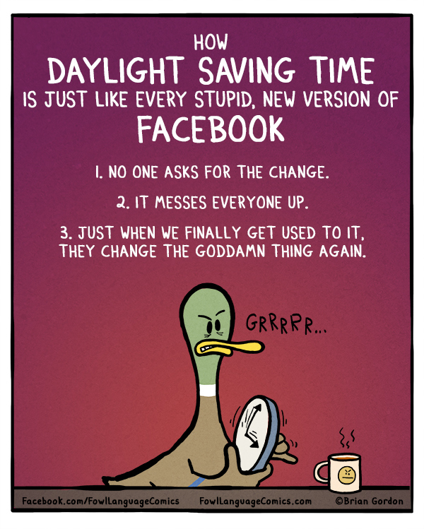Image result for daylight savings stupid