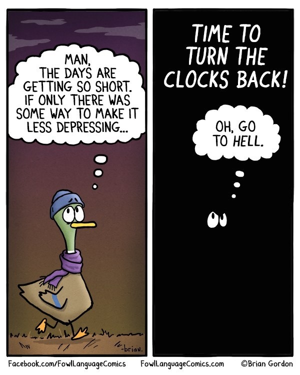 Daylight-saving-fowl