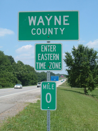 Time-zone-sign
